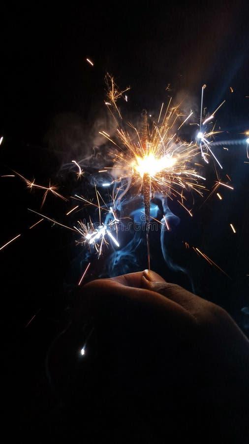 Феиэрверки Diwali стоковые фотографии rf