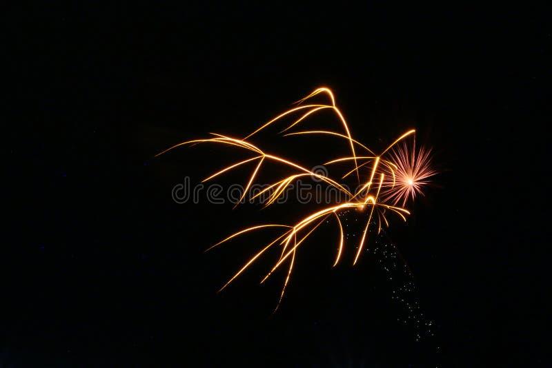 Фейерверки на день Канады в Stittsville 10 стоковые изображения rf