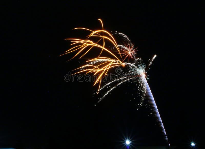 Фейерверки на день Канады в Stittsville 7 стоковое фото rf