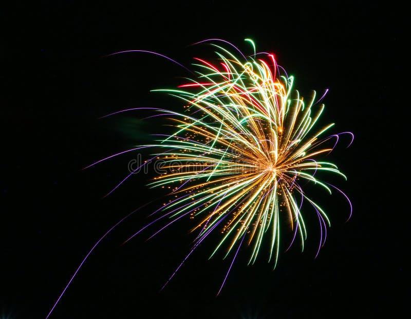 Фейерверки на день Канады в Stittsville 4 стоковые фото