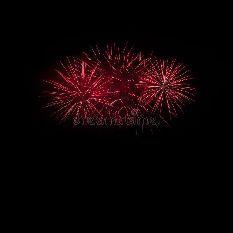 Фейерверки освещают вверх стоковое фото rf