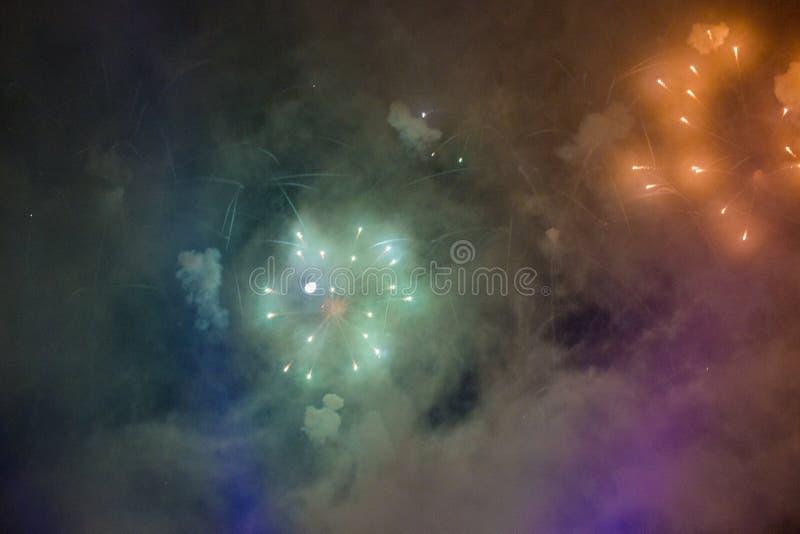 Фейерверки стоковые фотографии rf