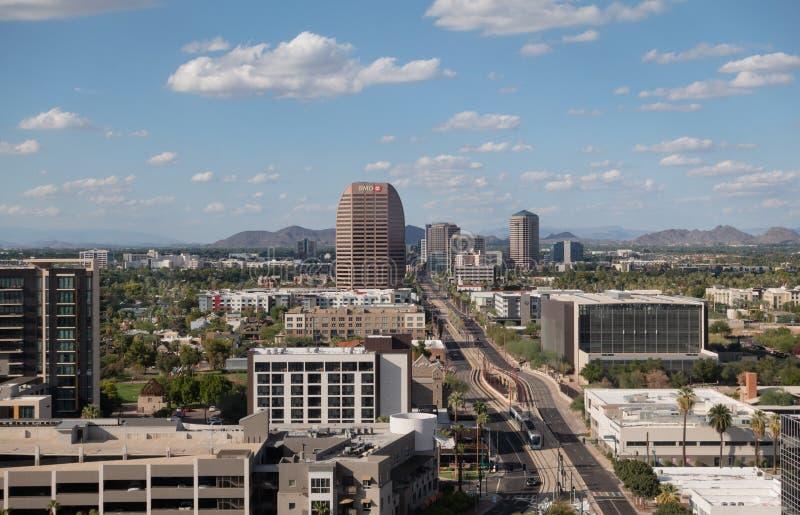 Феникс,Аз,США -9 28 19: Феникс занимает 5-е место в списке самых населенных городов США, столица штата Аризона Это стоковые фото