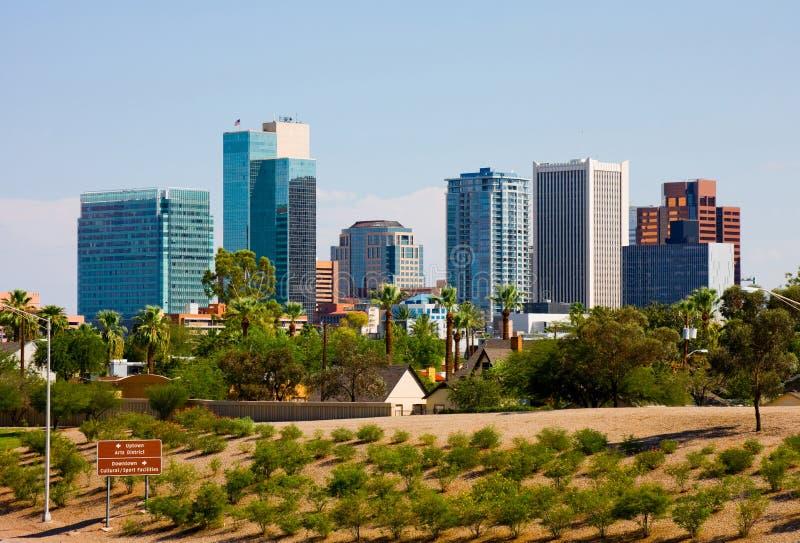 Феникс Аризона стоковое изображение rf