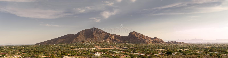 Феникс, Az, гора Camelback, стоковое фото