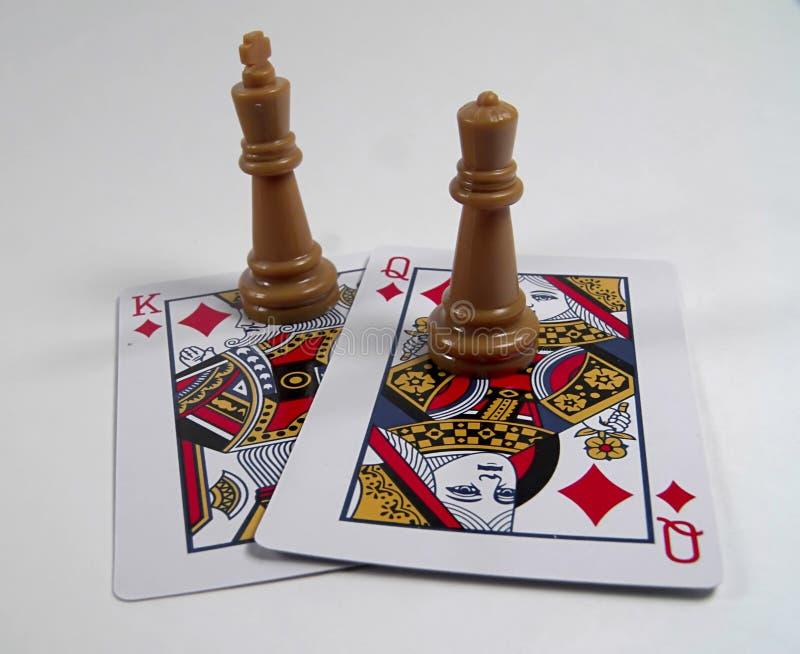 ферзи королей Стоковые Фото