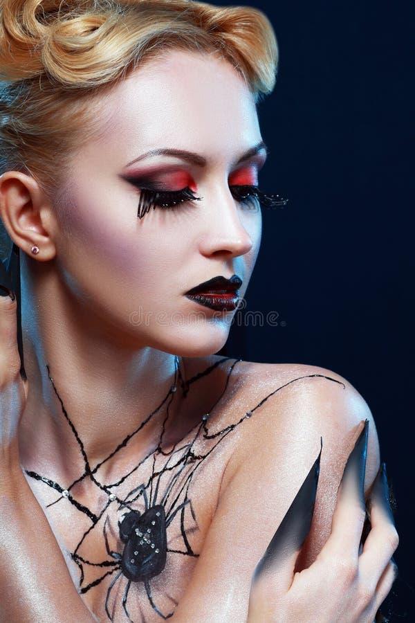Ферзь паука стоковое изображение rf