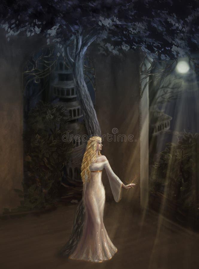 Ферзь эльфов бесплатная иллюстрация