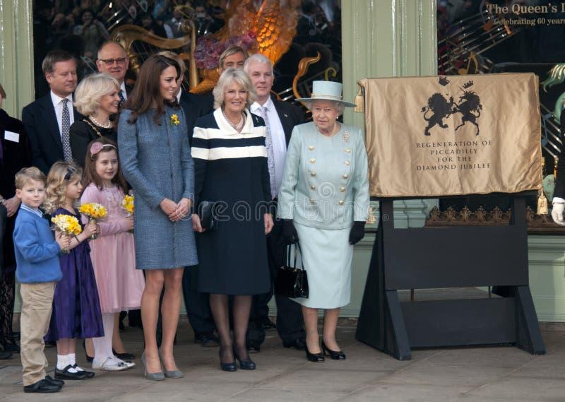 ферзь duchess elizabeth ii cornwall стоковое фото rf