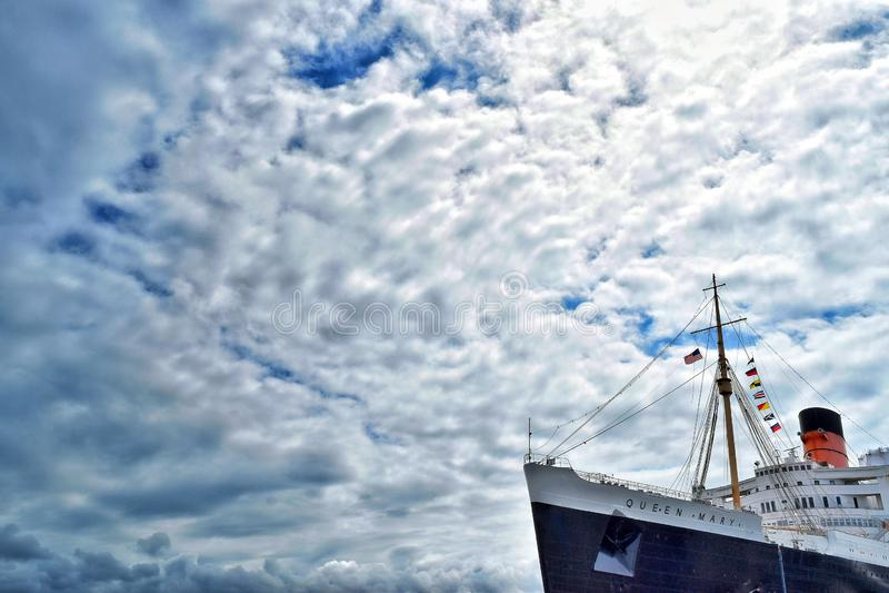 Ферзь Mary RMS стоковые фото