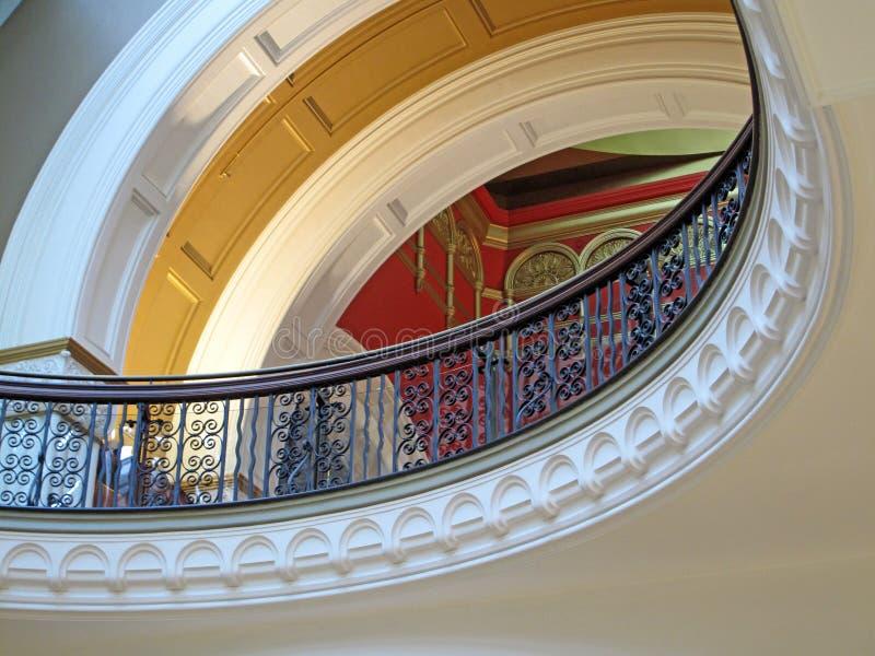 Ферзь Vicrtoria строя внутренний балкон стоковое фото
