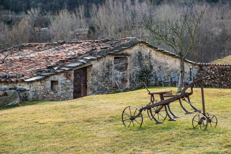 Ферма в Каталонии стоковые изображения rf