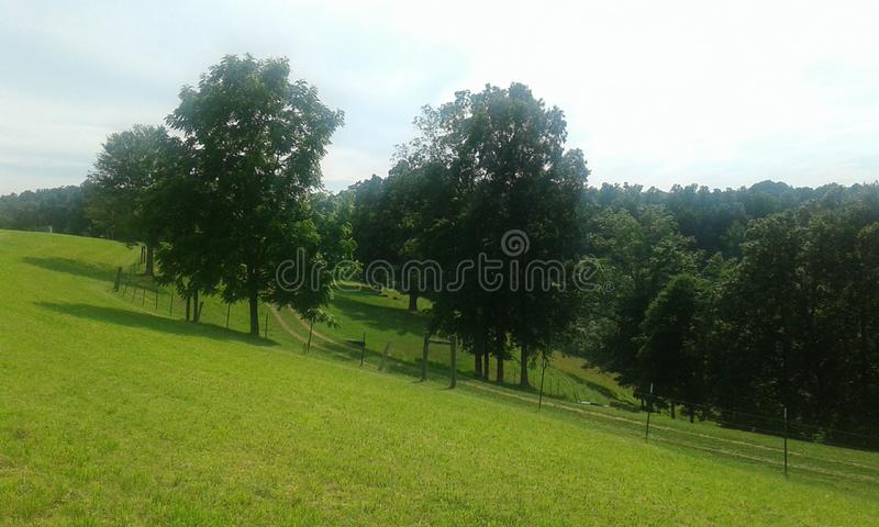 Ферма Западной Вирджинии стоковая фотография