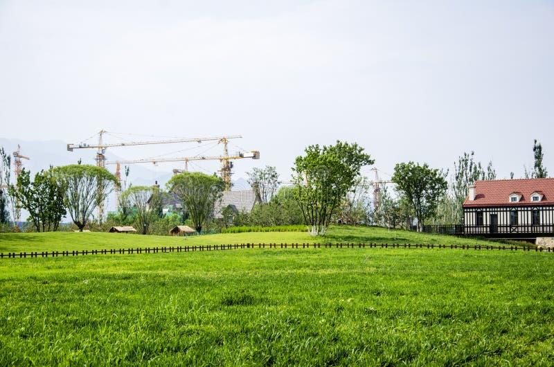 Ферма и курорт стоковые изображения rf