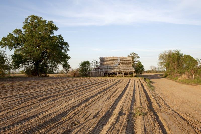 Ферма, Миссиссипи стоковая фотография