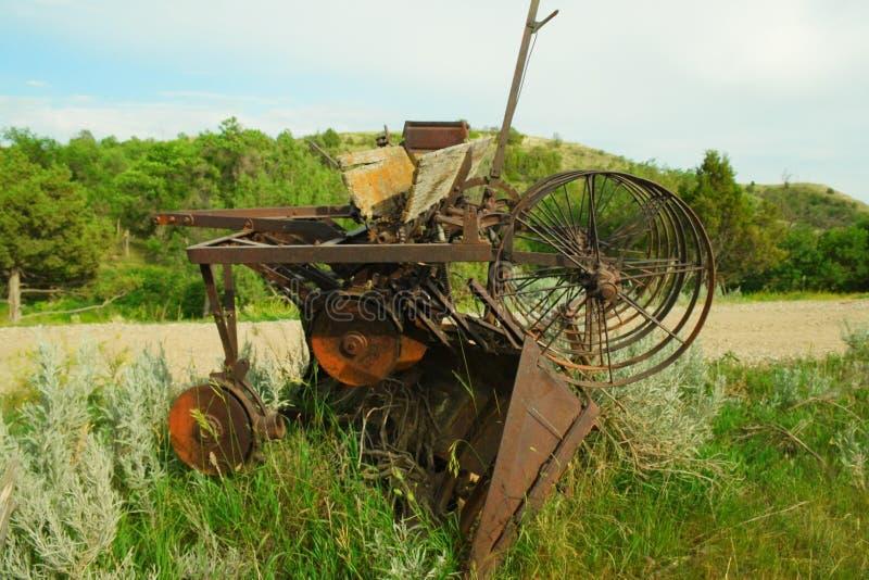 ферма оборудования старая стоковая фотография rf