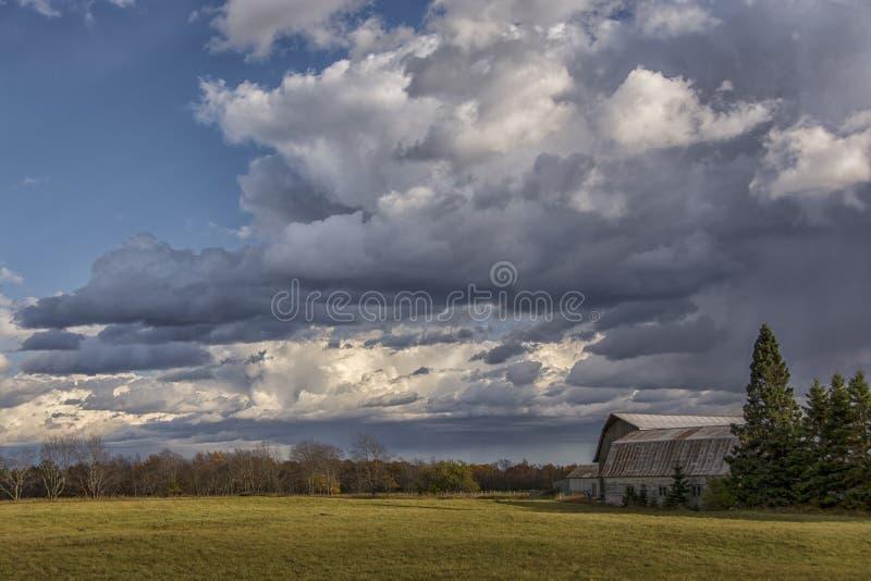 Ферма осени Midwest стоковое фото rf