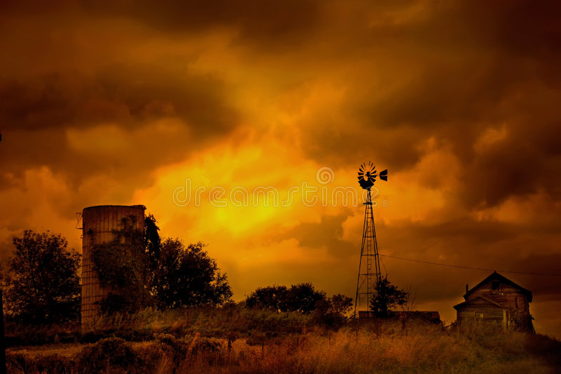 ферма смерти стоковые фотографии rf