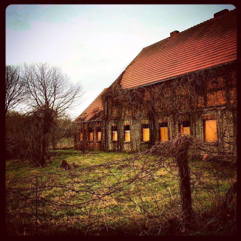ферма старая стоковая фотография
