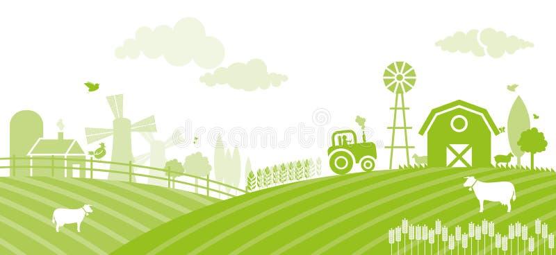 Ферма иллюстрация вектора