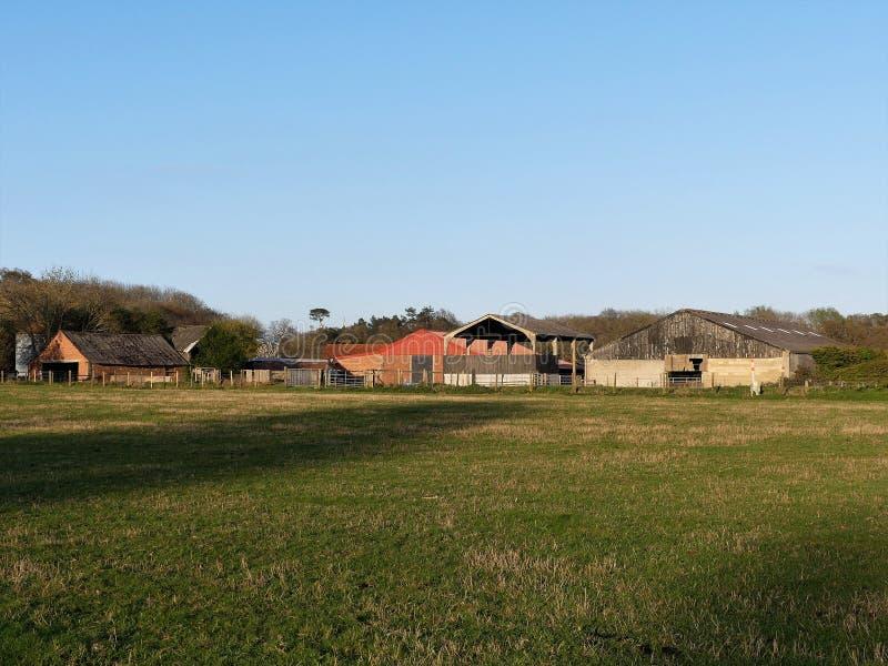 Ферма Bullsland, Chorleywood стоковые изображения rf