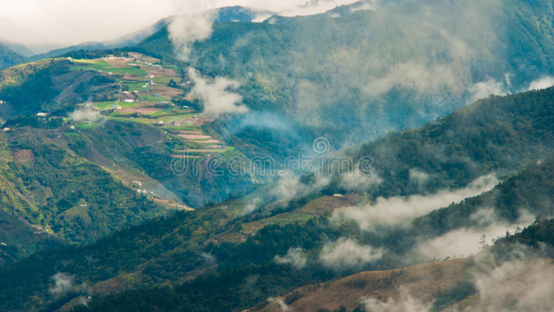 ферма fushoushan стоковое изображение
