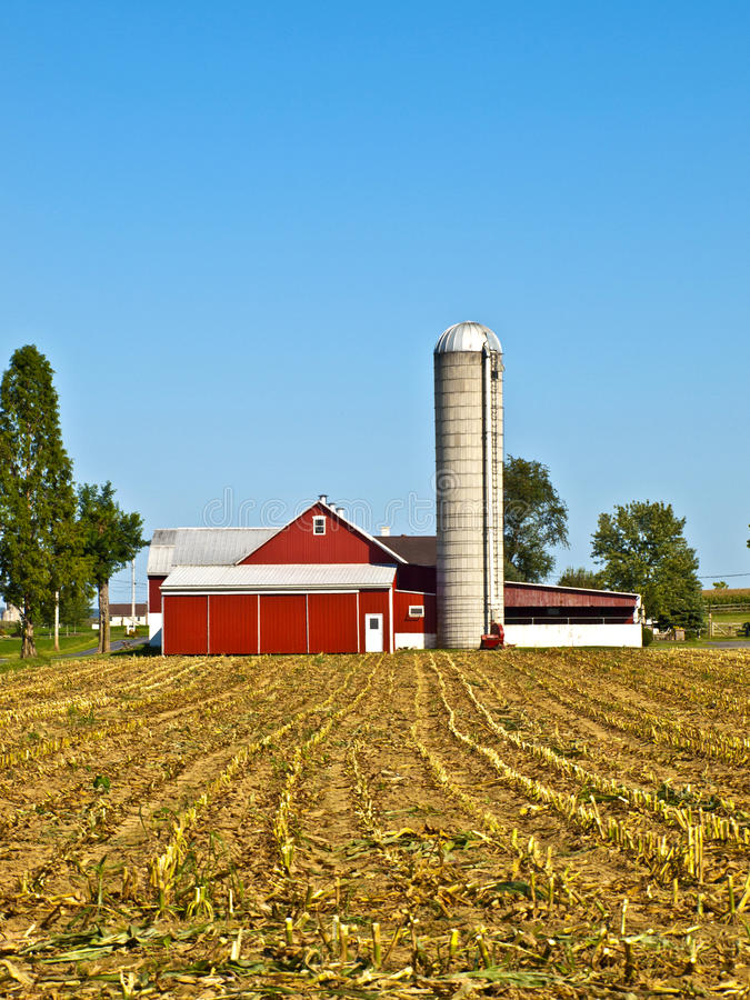 ферма lancaster США amish стоковые изображения