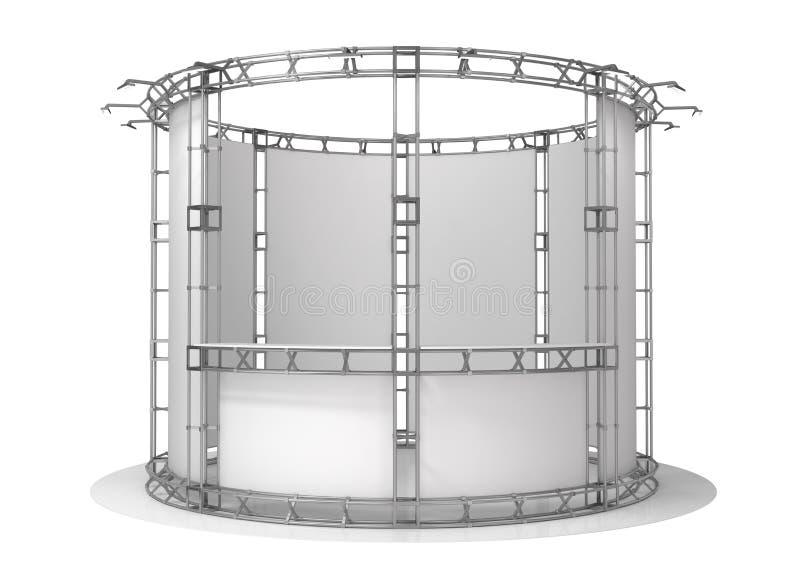 Ферменная конструкция торговой выставки, павильон выставки иллюстрация 3d бесплатная иллюстрация