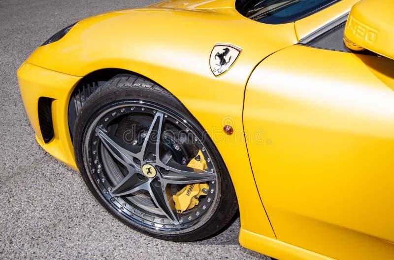 Феррари F430 стоковое фото rf