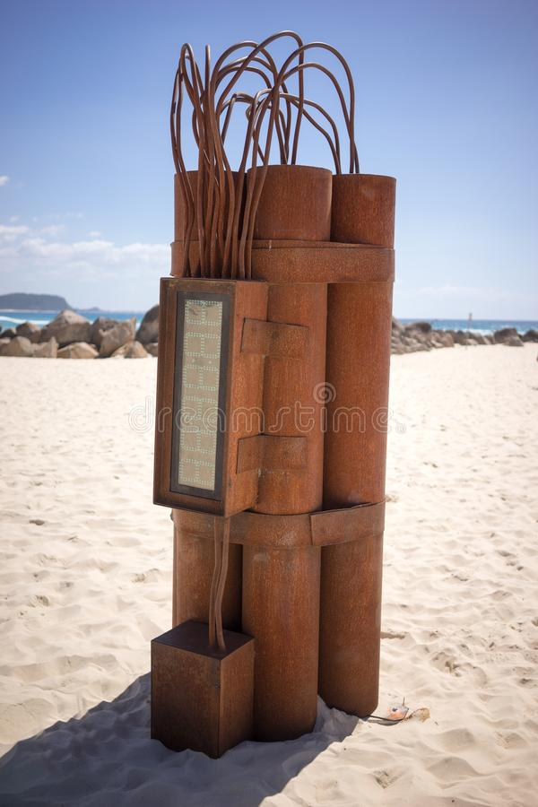 Фестиваль Австралия цацы скульптуры стоковые фото
