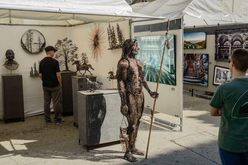 Фестиваль искусств март 2018 городской Ft Olas Las Lauderdale7 стоковые изображения rf