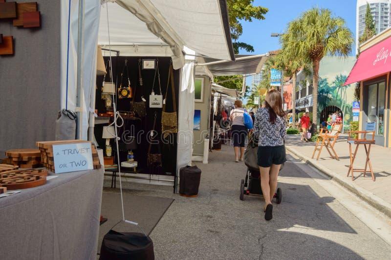 Фестиваль искусств март 2018 городской Ft Olas Las Lauderdale19 стоковые фотографии rf