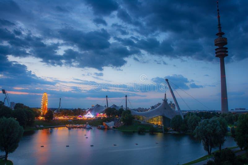 Фестиваль лета Impark, Мюнхен, Германия 2-ое августа 2019 стоковые фотографии rf