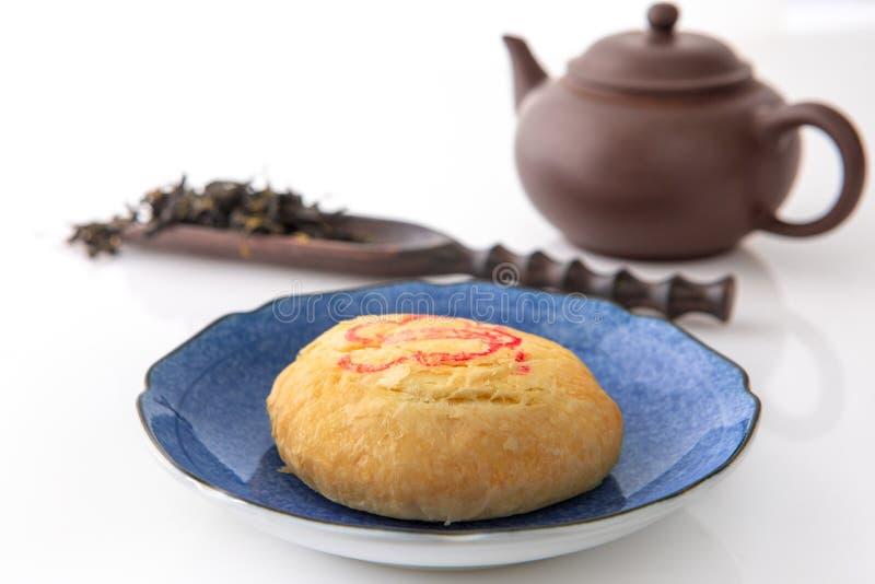 Фестиваль Средний-осени, просмотр луны, чай, торт луны, торт солнца Taichung стоковое изображение rf