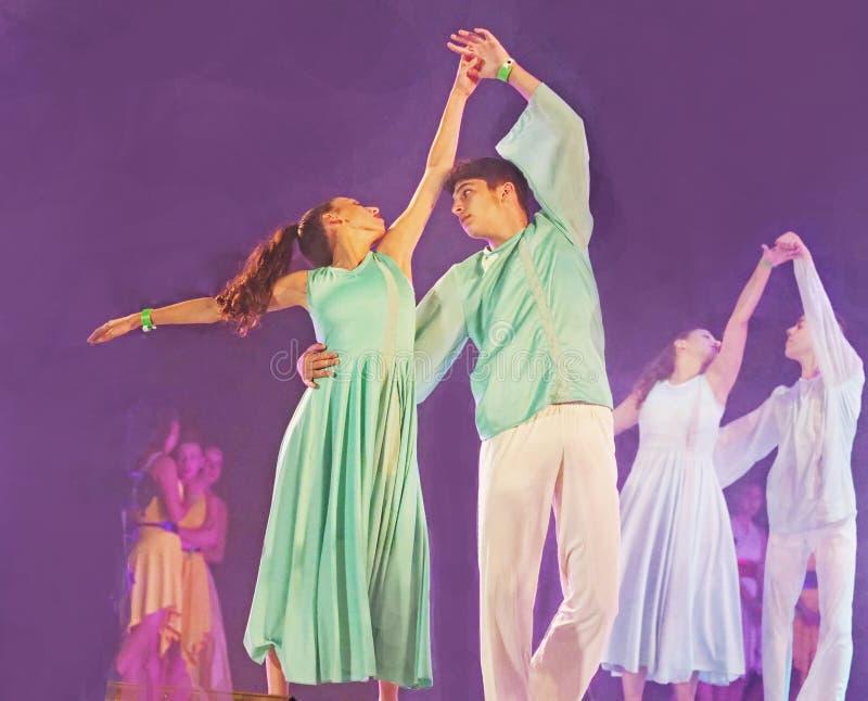 Фестиваль 2019 танца Karmiel стоковые фото