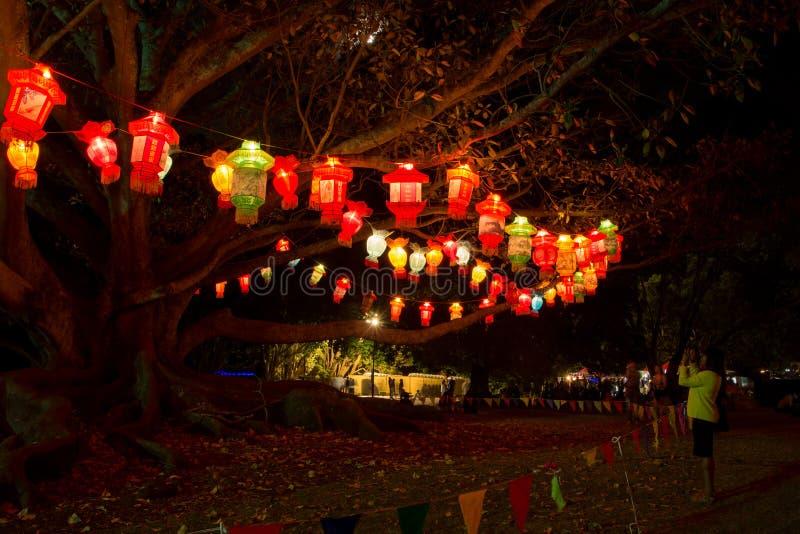 Фестиваль фонарика стоковое изображение rf