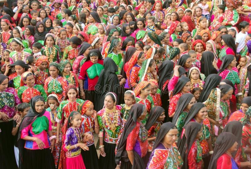 Фестиваль Janmasthami - Ratnal/Индия стоковые фотографии rf