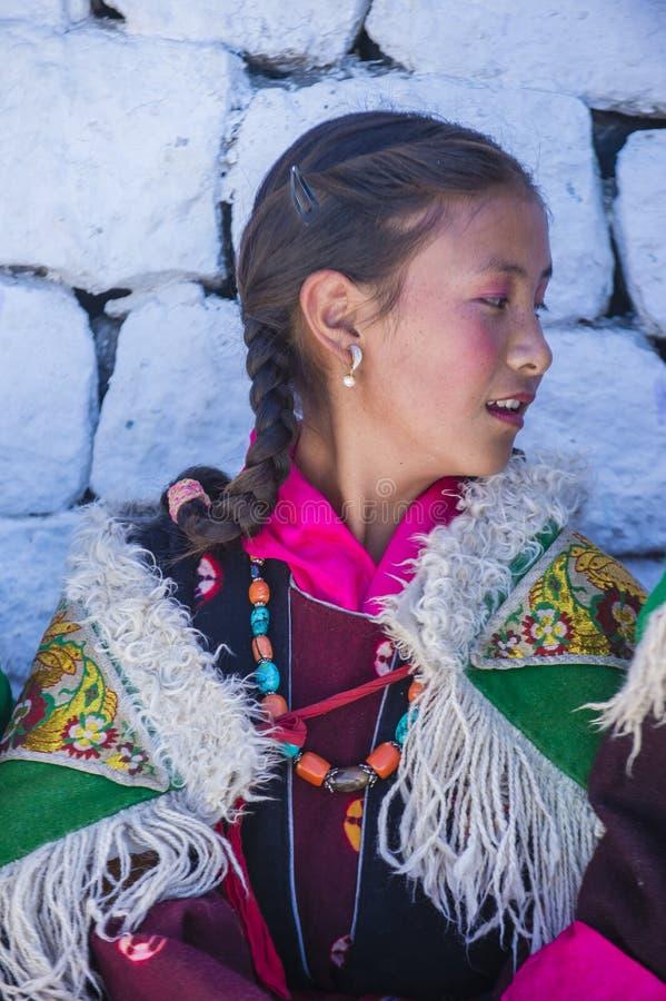 Фестиваль 2017 Ladakh стоковые фото