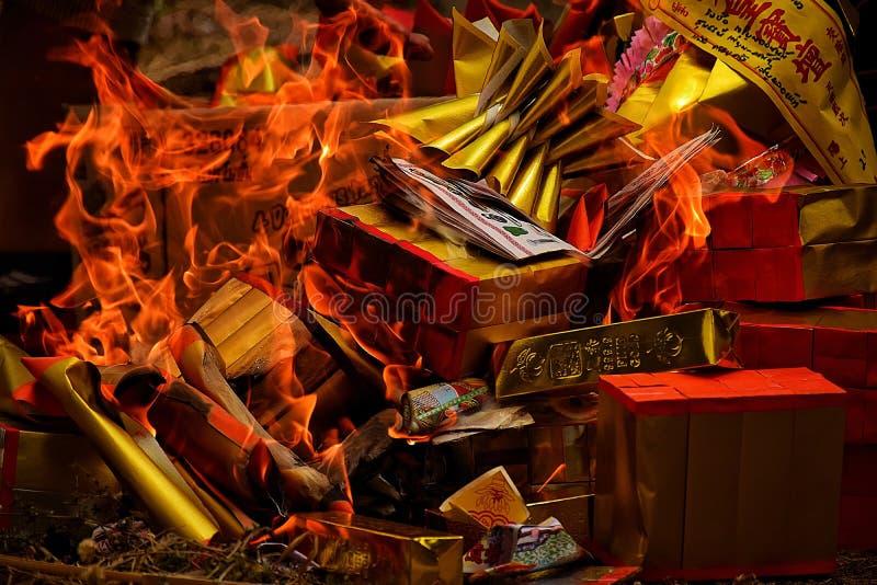 Фестиваль meng Chen китайца - тайского происхождения стоковые изображения