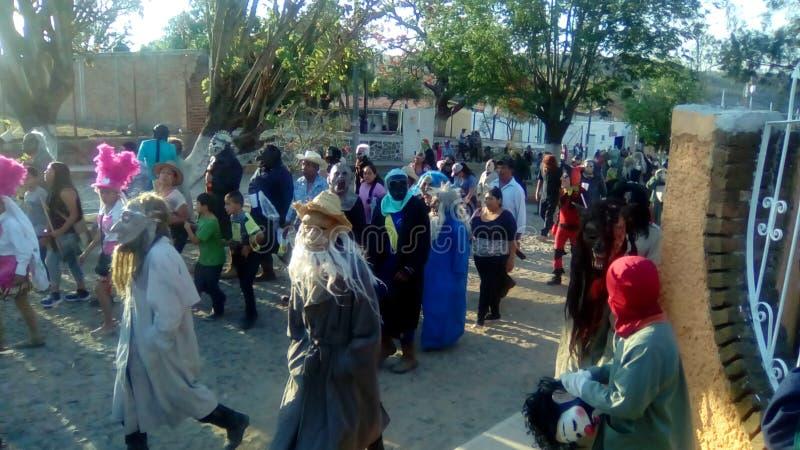 Фестиваль Oconahua стоковое изображение rf