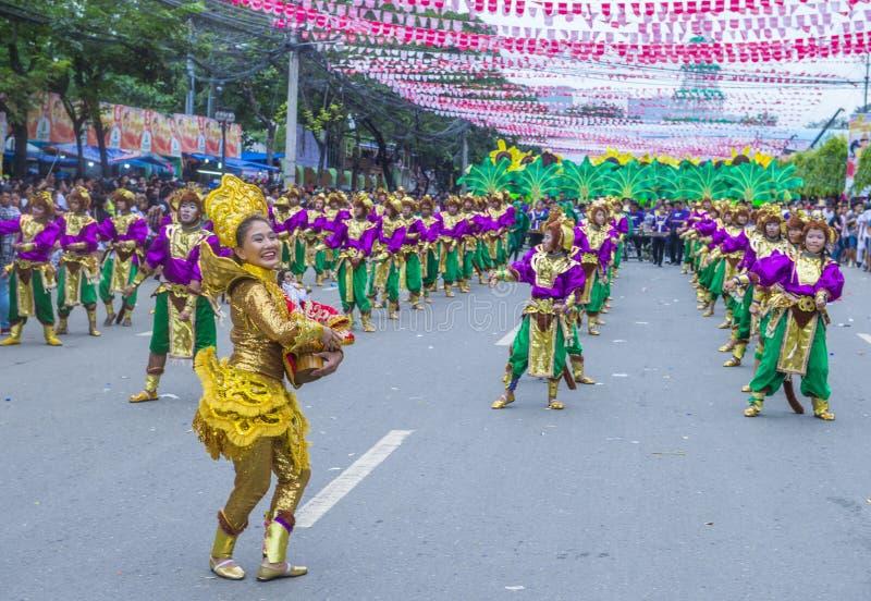 Фестиваль 2018 Sinulog стоковые изображения rf