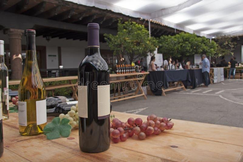 Фестиваль вина стоковое изображение rf