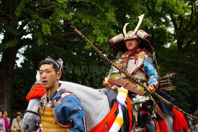 Фестиваль Киото Jidai Matsuri, Япония стоковое фото rf