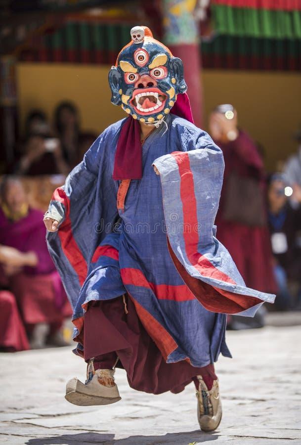 Фестиваль монастыря Hemis стоковая фотография rf