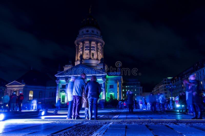 Фестиваль огней 2016 berlin Германия стоковые изображения