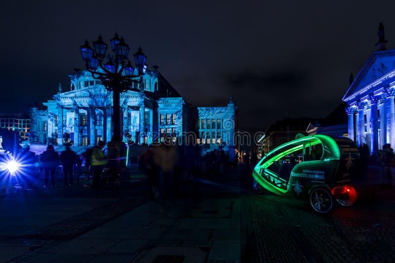 Фестиваль огней 2016 berlin Германия стоковое фото