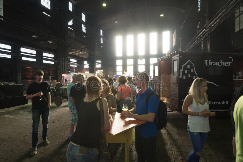 Фестиваль пива ремесла стоковое фото rf