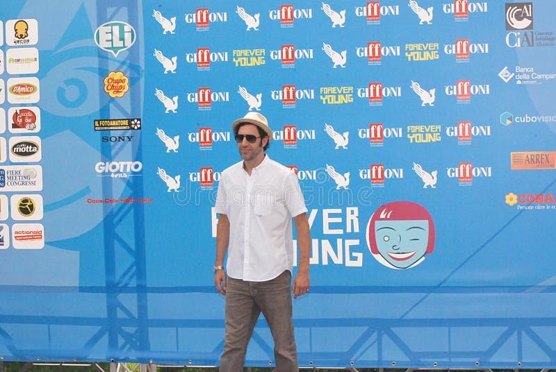 Фестиваль фильмов 2013 Giffoni al барона Cohen Sacha стоковое изображение rf
