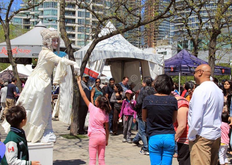 Фестиваль цирка в Торонто. стоковые изображения
