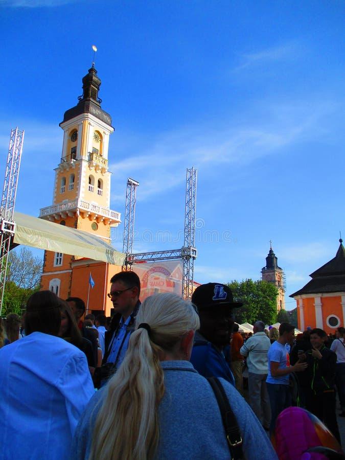 Фестиваль, Kamenets Podolskiy, Украина стоковое изображение rf